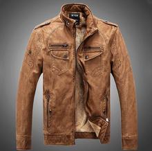 Hot ! High quality new winter fashion men's coat, men's jackets, men's leather jacket Overcoat free shipping(China (Mainland))