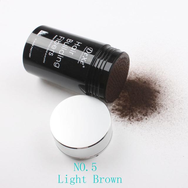 Dexe строительные волос волокна лечение 22 г светло-коричневого цвета # 05
