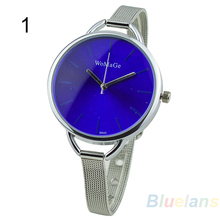 New Design Women s Fashion casual Minimalist Stainless Steel Strap Wrist Watch 0288 2UBM