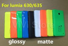 100% Genuine housing for Nokia lumia 630, Original New Back Cover, Battery Cover Case for Nokia lumia 635(China (Mainland))