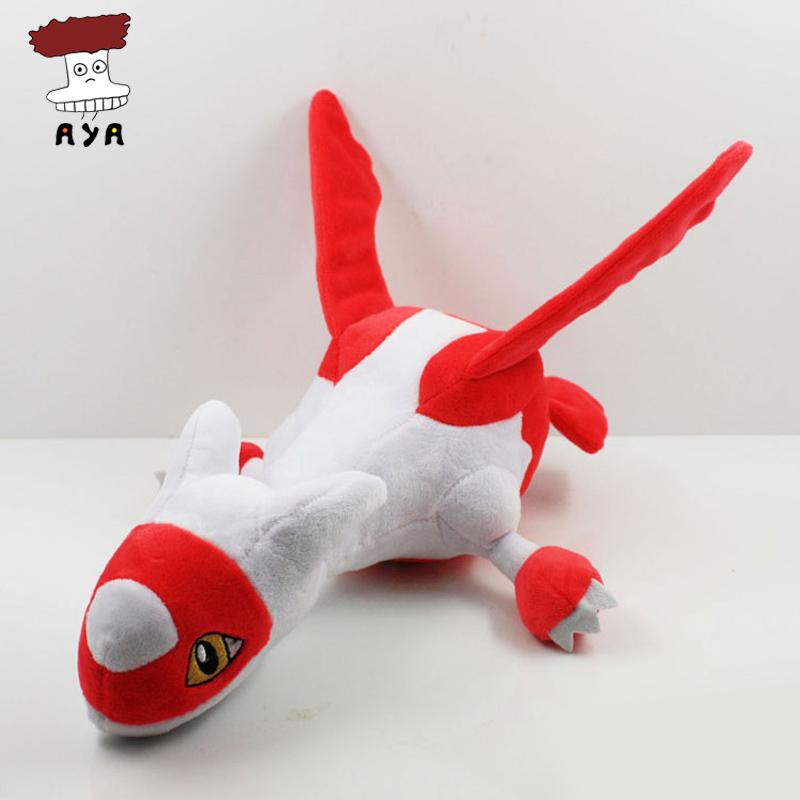 "5pcs/lot Pokemon Plush Toys 12"" 30cm Big Red Latias Soft Stuffed Animals Doll Kids Toys For Children Christmas Gift(China (Mainland))"