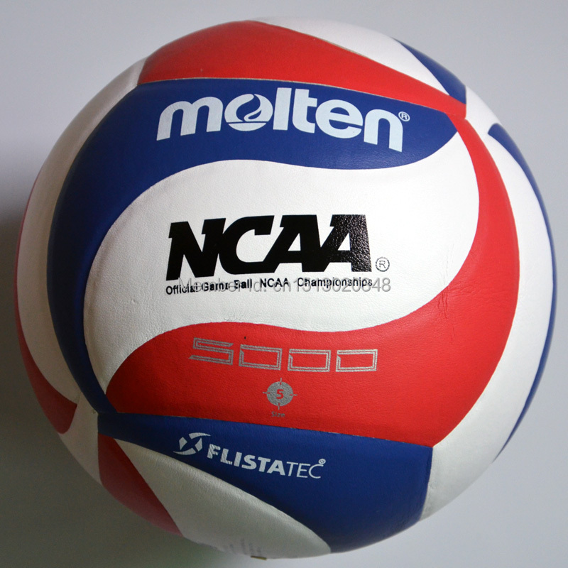 wholesale or retail Molten Official GAME BALL Size 5 PU Volleyball Soft Touch V5M5000 Training Volleyball Free Shipping(China (Mainland))