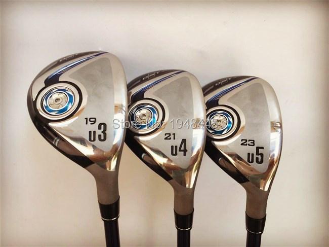 "XX10 MP900 Hybrid MP900 Golf Hybrid OEM Golf Clubs 19""/21""/23"" Degree Regular/Stiff Flex Graphite Shaft With Head Cover(China (Mainland))"