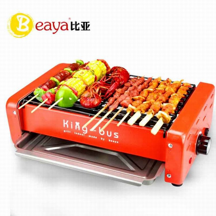 Intelligent household electric grill electric oven smokeless barbecue grill BBQ Grill roast kitchen indoor(China (Mainland))