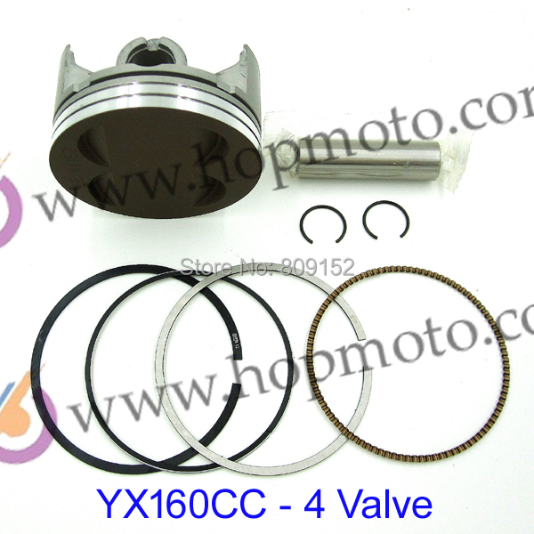 YinXiang 4 Valve YX 160cc Piston kit for dirt bike/pit bike use!(China (Mainland))
