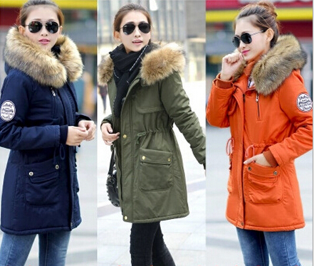 Fur Hooded Parka Coat