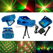 Buy New Portable multi led Projector DJ Disco Light music Stage lights Xmas Party wedding club show Laser Lighting projector Blue for $15.99 in AliExpress store