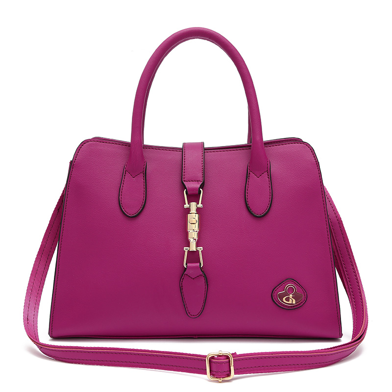 2016 new fashion famous brand woman real leather handbag handles shopper tote bag medium size bolsa feminina de marca(China (Mainland))