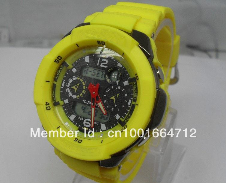 2012 most popular G sport watch, 7pcs/lot gw 3500 watch Outdoor sports Waterproof Luminous Watch(Rubber strap),No shocked box