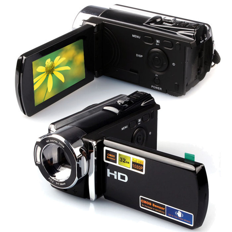 1080P Digital Video Camcorder Full HD 16 MP 16x Digital Zoom DV Camera Kit(China (Mainland))