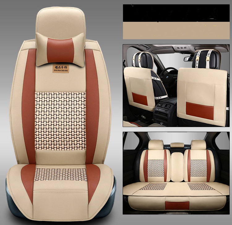 High quality Car Seat Covers fit for 5 seats car seats cover comfortable in Four Seasons Freeshipping(China (Mainland))