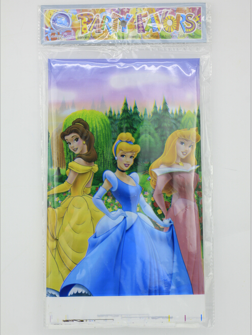Pretty Snow White Princess Theme Party Table Cloth Mat Popular Kids Birthday/Festival Party Favour Supplies(China (Mainland))