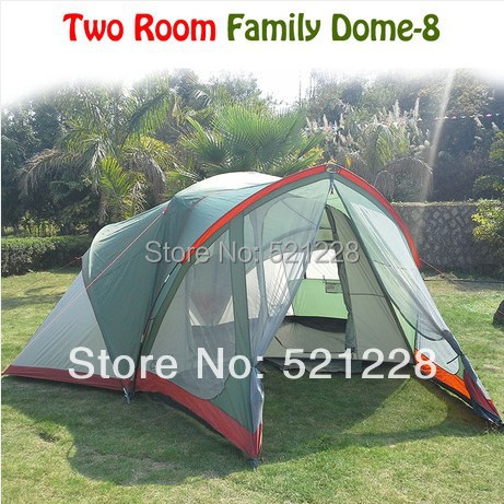 Здесь можно купить  2014 hot sale outdoor camping ultra huge big family doom 8 persons tent in 2 bedrooms and 1 living room on sale and  top quality 2014 hot sale outdoor camping ultra huge big family doom 8 persons tent in 2 bedrooms and 1 living room on sale and  top quality Спорт и развлечения
