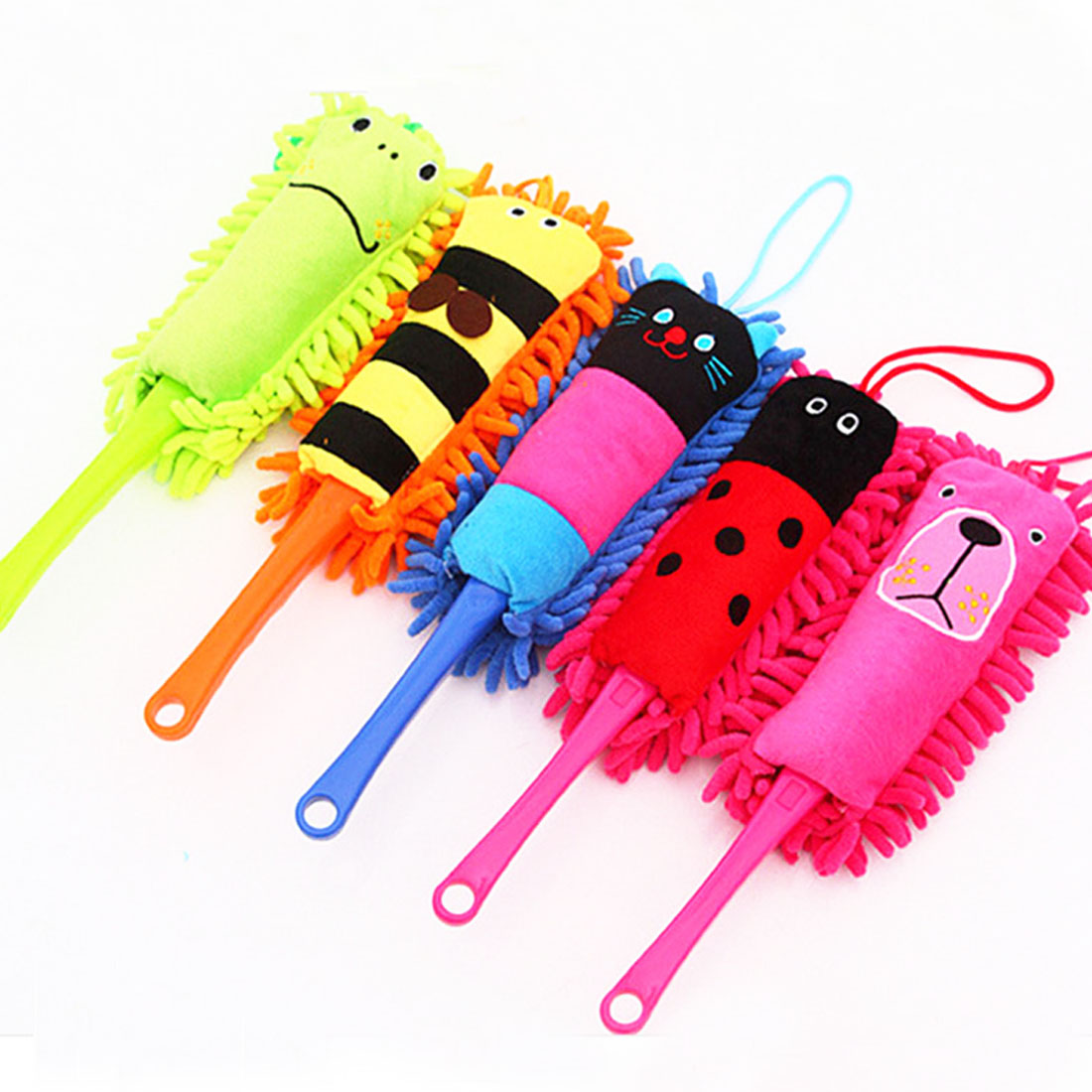 1 pcs Cartoon Animal Household Detachable Cleaning Brushes Dust Dusters for Cars Computers Furniture Electric Appliances(China (Mainland))