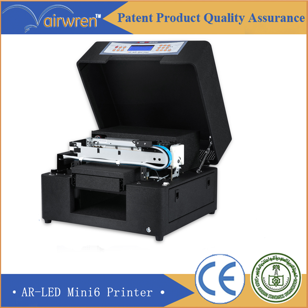 2016 High quality uv printer price UV flat bed printer for metal(China (Mainland))