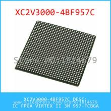Electronic Kit XC2V3000-4BF957C IC FPGA VIRTEX II 3M 957-FCBGA 3000 XC2V3000 1pcs(China (Mainland))
