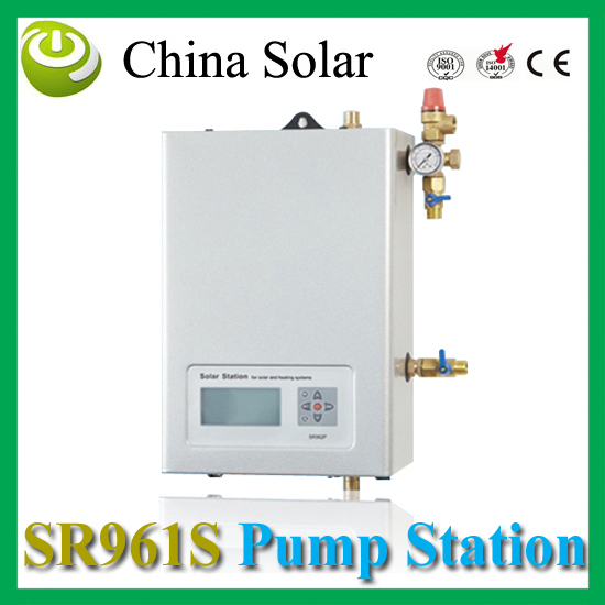 China Solar Solar pump work station SR961s double pipes for Split pressurized hot water system(China (Mainland))