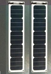 15W custom marine solar panel 5cells 680mm x 140mm x 3mm(China (Mainland))