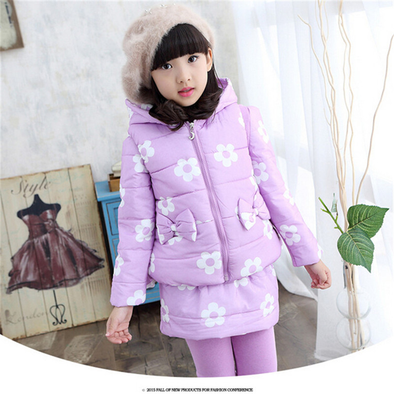 Girls Autumn Winter Sport Clothes Hoodies girls Hoodie Children Clothing Warm 3 pcs Sweater Suit Kids Clothes Tracksuit