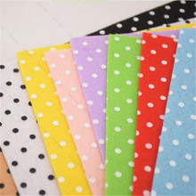 Felt Sheets DIY Craft Cleaning Products Supplies Polyester Wool Blend Fabric 10 Colors(China (Mainland))
