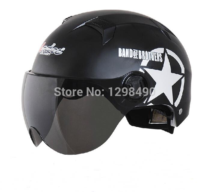 Motorcycle helmet Capacete Mototcycle Motorbike Half Face Anti-UV Summer Motorcross helmet Hat 2014 New Hot Sale(China (Mainland))