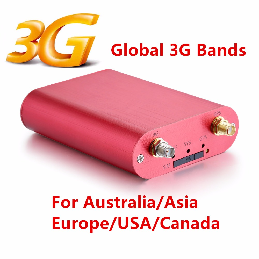 3G Vehicle GPS Tracker With Global 3G Frequency Australia Real-time Tracking Geo-fence Anti Thief External Power Cut Alarm(China (Mainland))