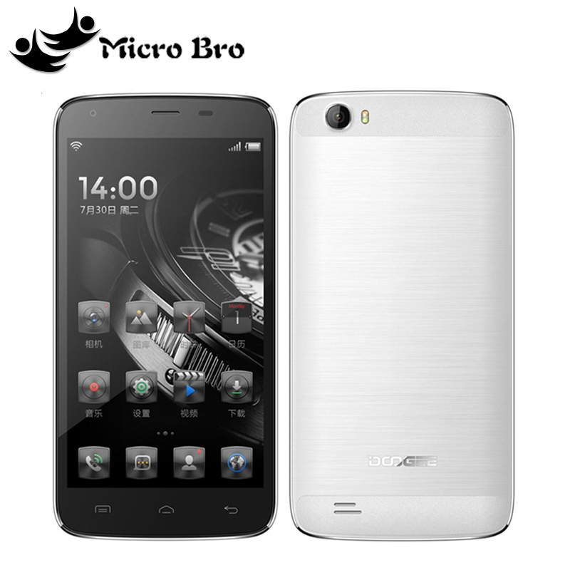 """Original Doogee T6 MTK6735 Quad Core 1.3GHz 5.5"""" HD 2GB RAM 16GB ROM Cell Phone 13.0MP Android5.1 4G LTE Big Battery 6000mAh(China (Mainland))"""