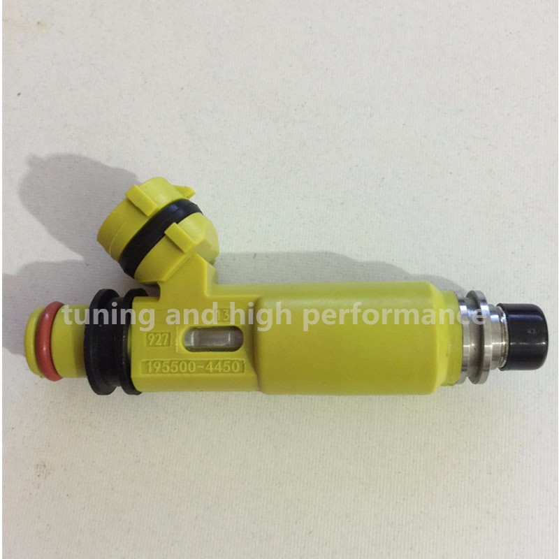 4 Pcs NEW OEM Yellow Fuel Injectors For 2004-2008 Mazda RX-8 195500-4450 From US