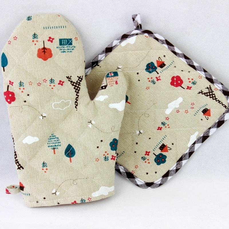Фартуки, рукавицы и прихватки из Китая