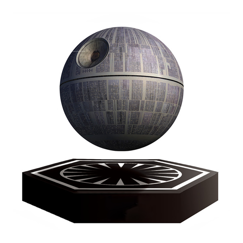 Wars Death Star Levitating Speaker Bluetooth Wireless Portable Rechargeable Floating Sound System(China (Mainland))