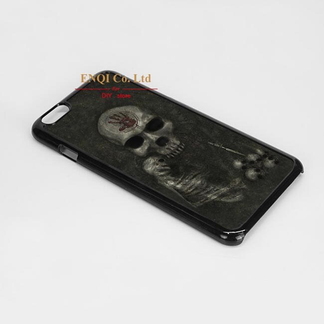 Free Shipping Skyrim - Dark Brotherhood Door Unique Custom Phone Case Case cover For iPhone 6(China (Mainland))