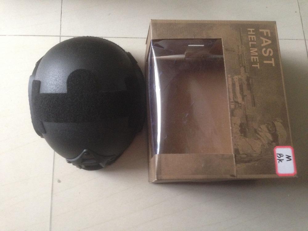 2015 America NIJ IIIA FAST Bulletproof Helmet, FAST black color/ army green Ballistic Helmet Kevlar Bullet proof Helmet(China (Mainland))