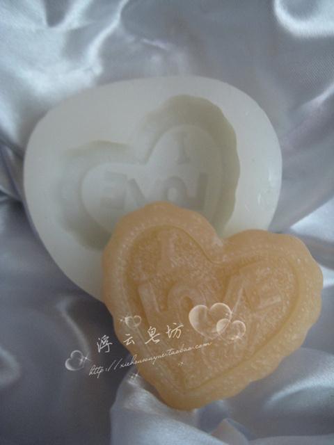 Handmade soap diy candle you translucent silica gel mould case mould
