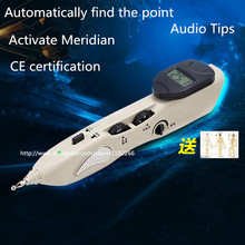 Automatically find acupoint meridian pen health care massage Electronic acupuncture detector Activation instrument free shipping