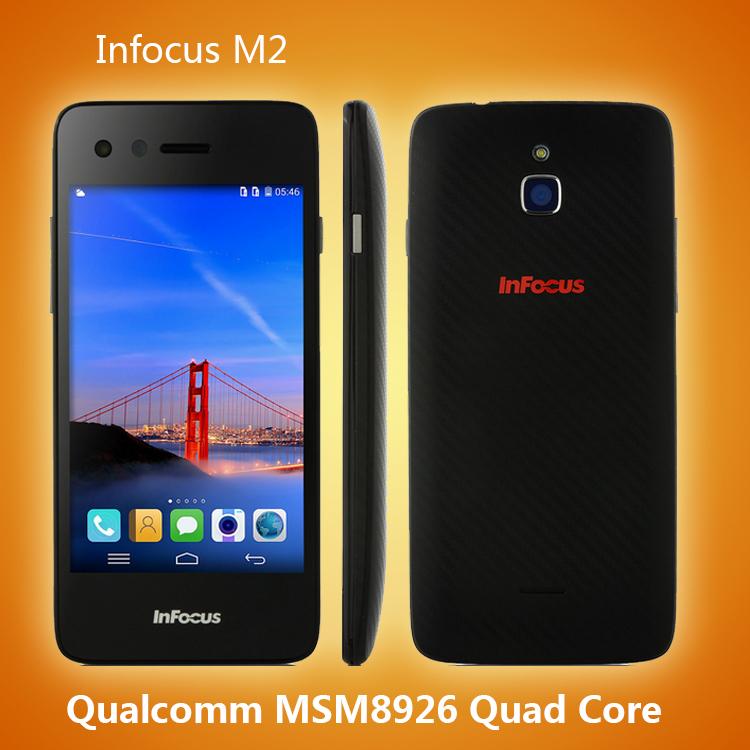 Мобильный телефон Foxconn Infocus 2 4.2' 1280 * 720 4.4 3G WCDMA 4G LTE MSM8926 8.0MP Infocus M2 мобильный телефон zte v5 v5 wcdma msm8926 android 4 4 5 hd 1280 x 720 1gb 2gb 4gb 8gb 13