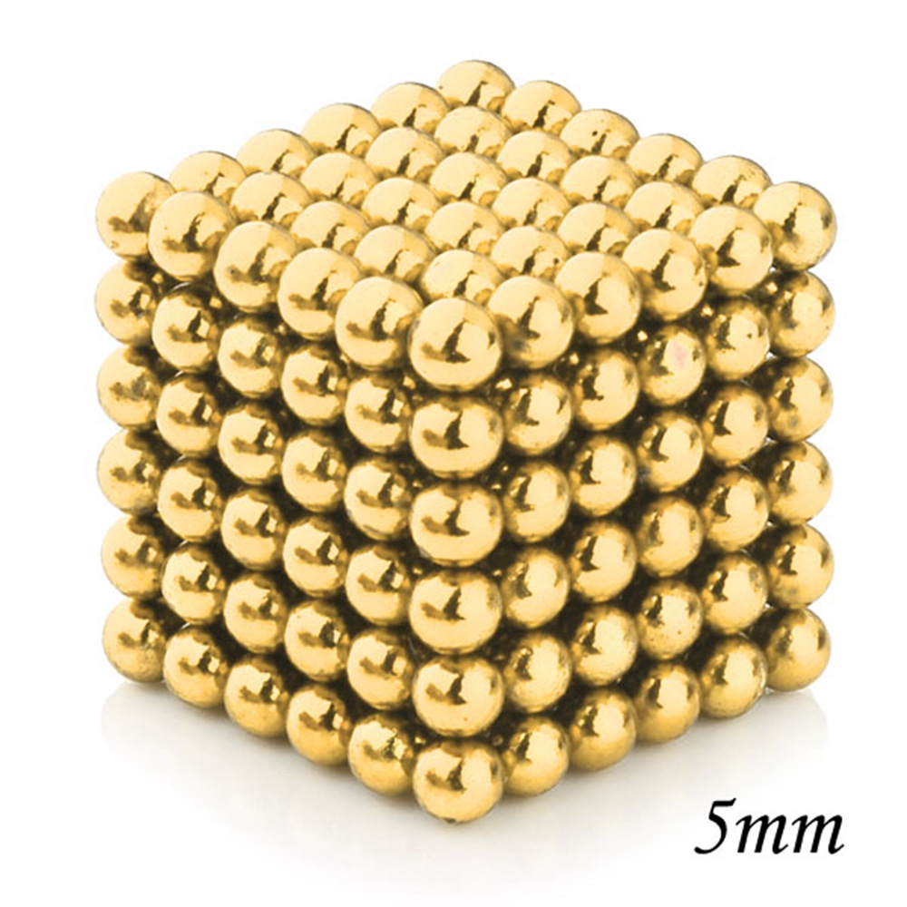 6 x 216Pcs Dia.= 5mm Magnetic Balls Magic Cubes Combo Gift Set Educational toys For Kids Children(China (Mainland))