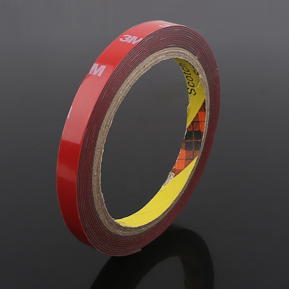 3M Auto Acrylic Foam Double Sided Attachment Tape 10 mm Car Automotive Auto Truck Trim Stickers Wholesales(China (Mainland))