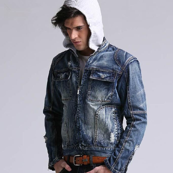 Hoodie And Denim Jacket