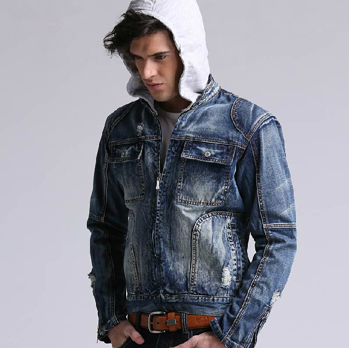 Online Get Cheap Jean Jacket Hoodie Men -Aliexpress.com | Alibaba ...