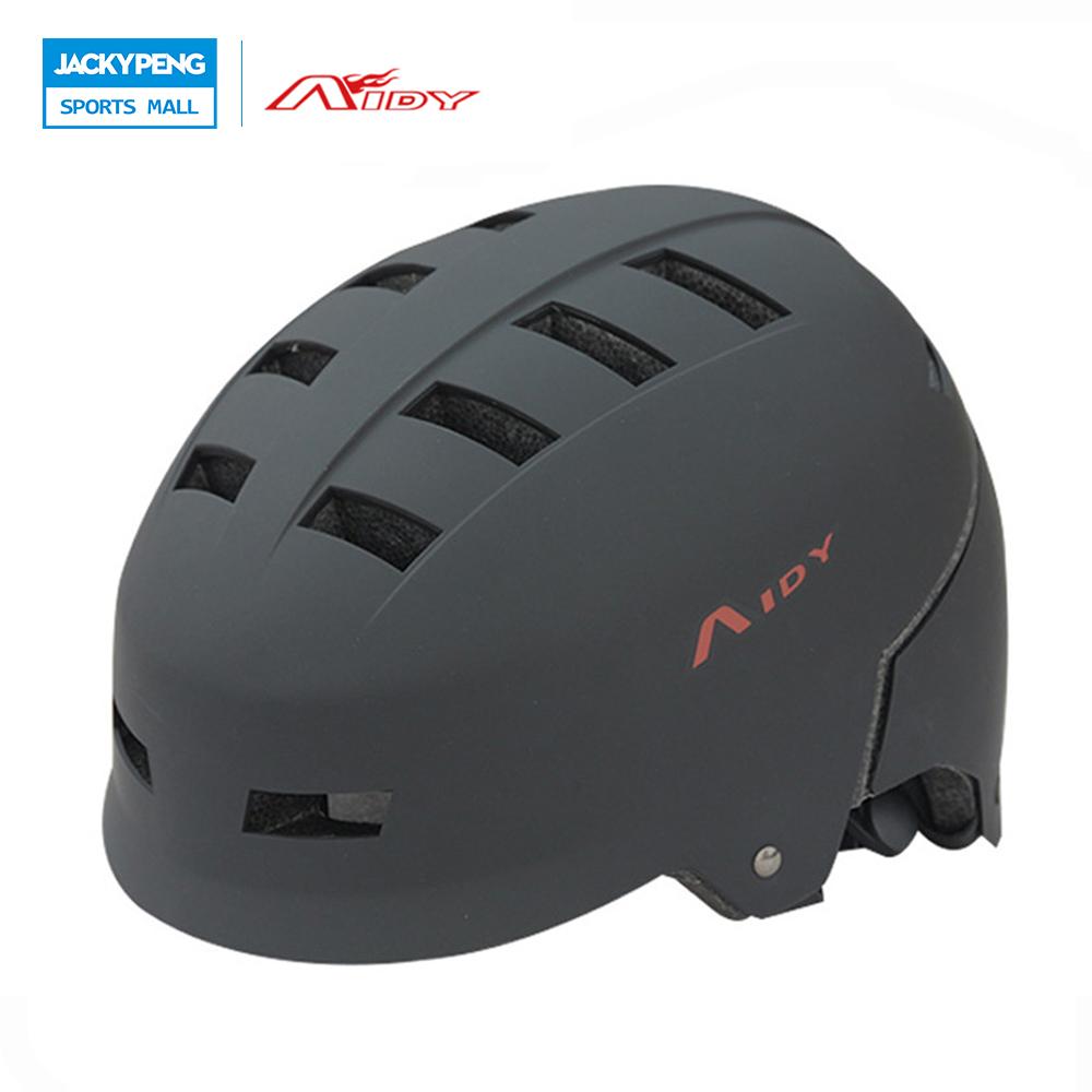New AIDY Adult Skate Extreme Sports Helmet Safety Helmet BMX Skateboard Roller Skating Multipurpose Universal Cycling Helmet(China (Mainland))