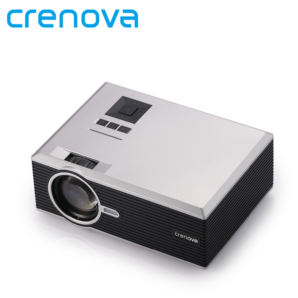 Crenova XPE470 Mini Projector 130'' Support HD 1080P Video via SD card HDMI VGA USB Drive for iPad iPhone for Home Movie(China (Mainland))