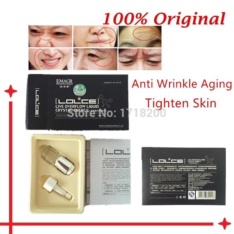 3 Packs EGF FaceCare Serum Anti Aging Wrinkle Face Cream Skin Tightening Whitening Essence Facial Lift Firming(China (Mainland))