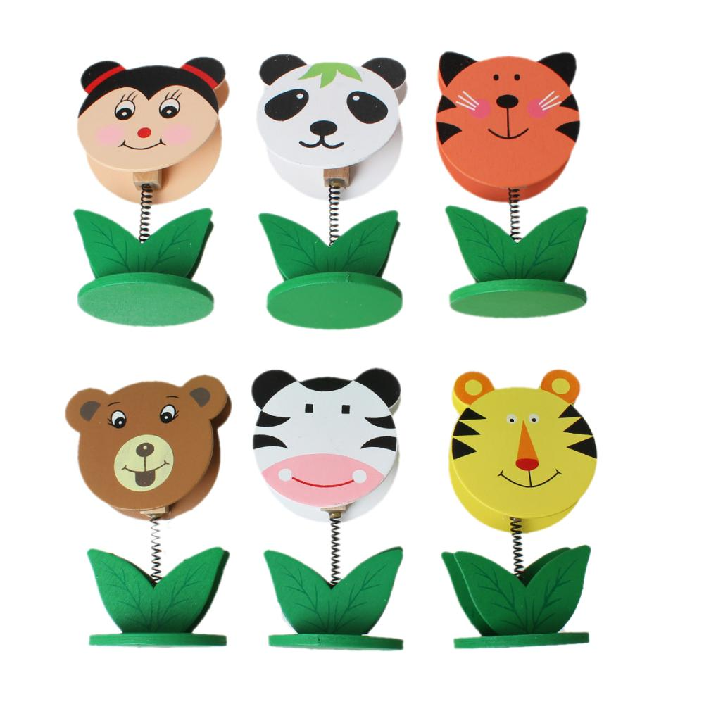 Wood Name Note Card Holder Photo Clip Stand Office Supply Animal Multicolor 24.0cm x 21.0cm,1 Box(Approx 12PCs) 2015 new(China (Mainland))