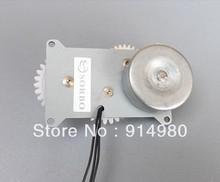 Gear motor homemade hand cranked generator charger Dynamo Crank Flashlight-phase AC motor electric motor(China (Mainland))