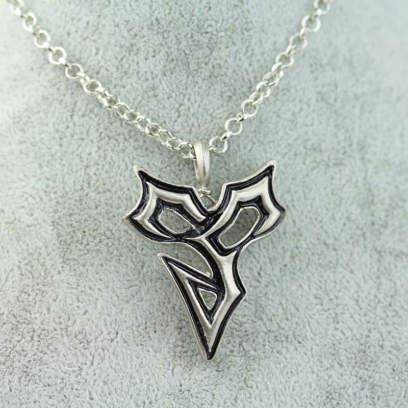 HOT game Final Fantasy Necklace Pendant Metal Necklace Cosplay Statement Necklace For Men women best friends collection(China (Mainland))