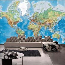 3d room wallpaper custom murals non-woven wall sticker 3D satellite world map HD painting Background photo wallpaper for wall 3d