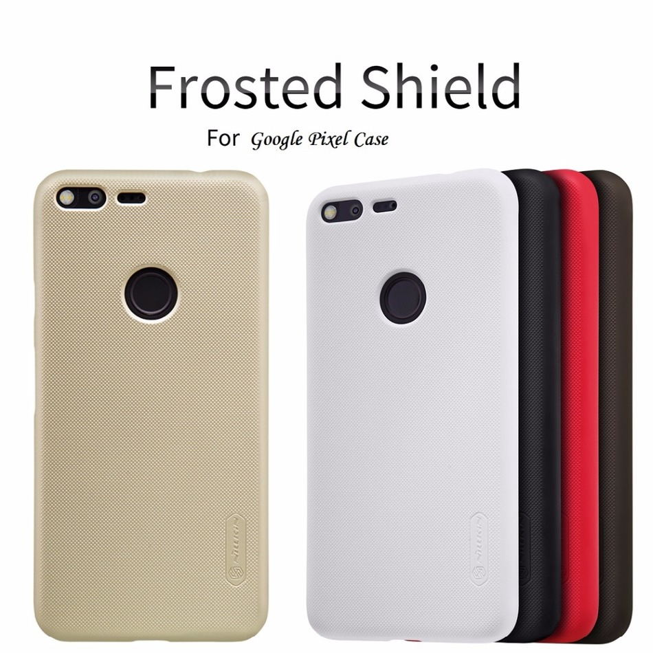 sfor Google Pixel Case Nillkin Frosted Shield PC Back Cover Case For Google Pixel 5.0'' / Pixel XL 5.5'' GIft Screen Protector