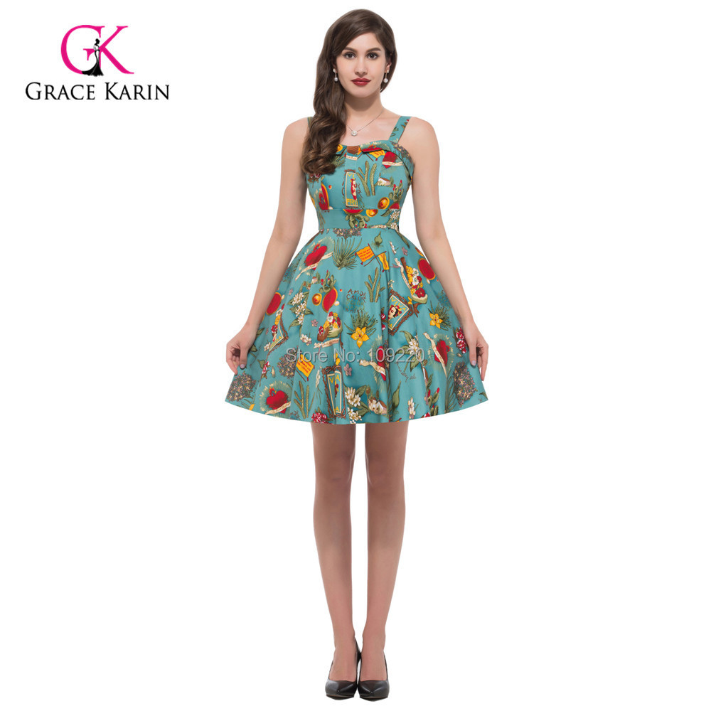 summer style plus size clothing pin up dress
