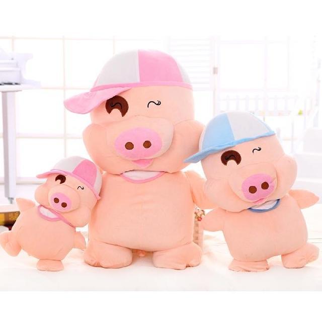 Shote boneca porco brinquedo de pelúcia boneca grande travesseiro boneca de pano de presente de aniversário meninas(China (Mainland))