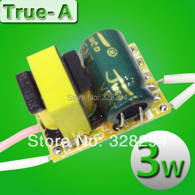 Гаджет  LED 3W  driver top quality low price  ,2yearsw warrenty  300mA None Свет и освещение